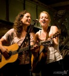 With Gabrielle Louise at the Songbirds Festival in Denver - Photo by Art Heffron