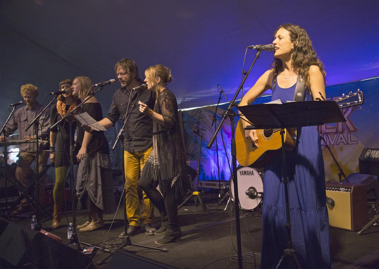 The 21st annual Sisters Folk Festival